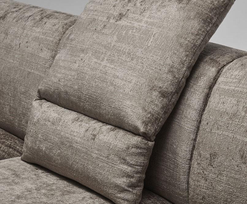 Aston - living room furniture - modular sectional with ottoman