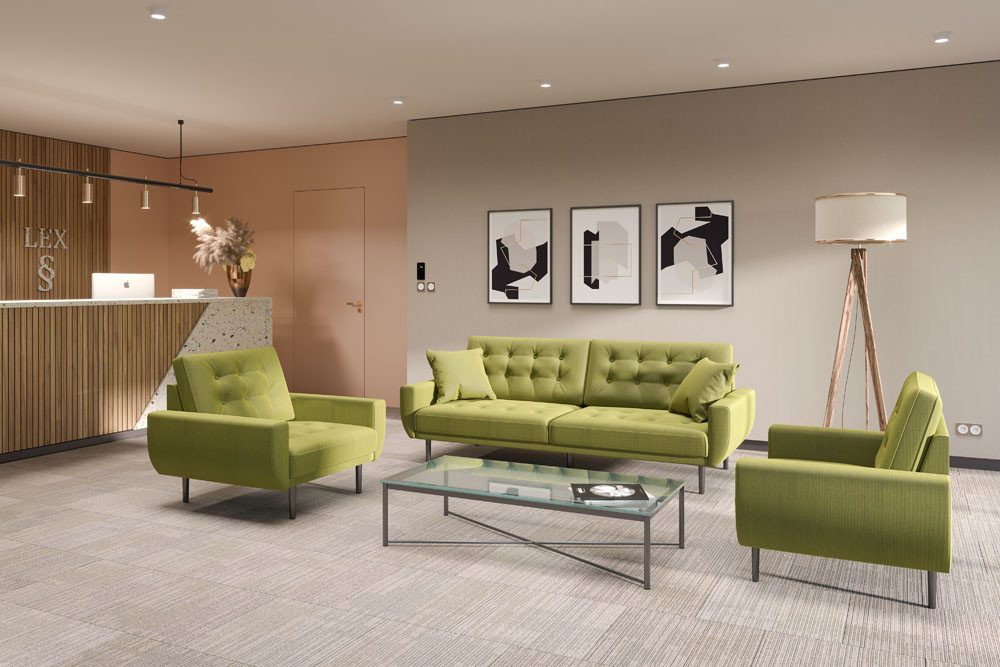 Sofa Rock - living room furniture - modern modular sectional with sleeping function