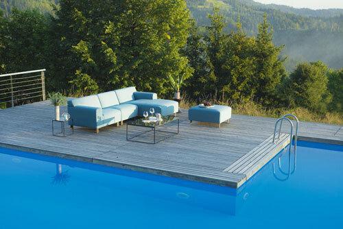 nowoczesne meble ogrodowe - Benz