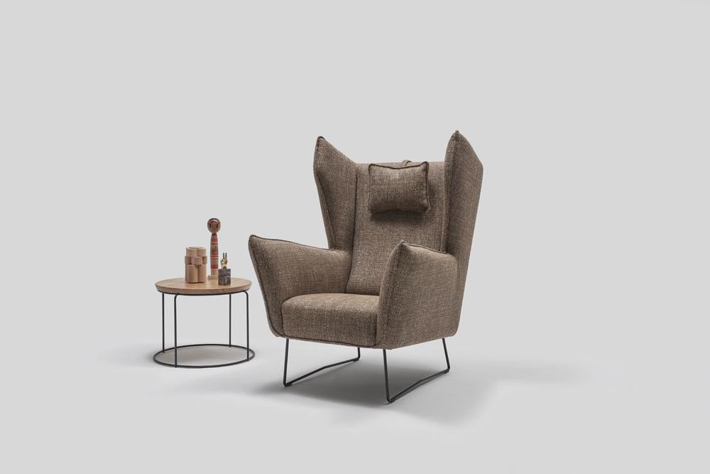 Fotel tapicerowany Brooklyn