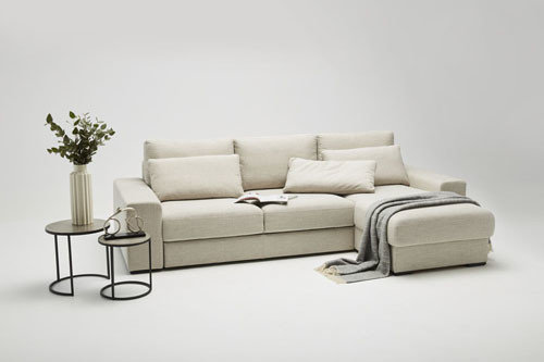 Grande - living room furniture - modern modular sectional with sleeping function, induction charger (optional)