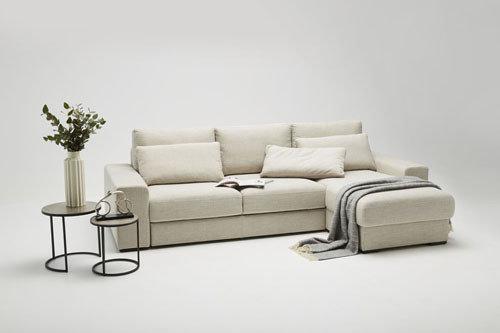 Meble do salonu - kolekcja mebli tapicerowanych Grande marki Bizzarto