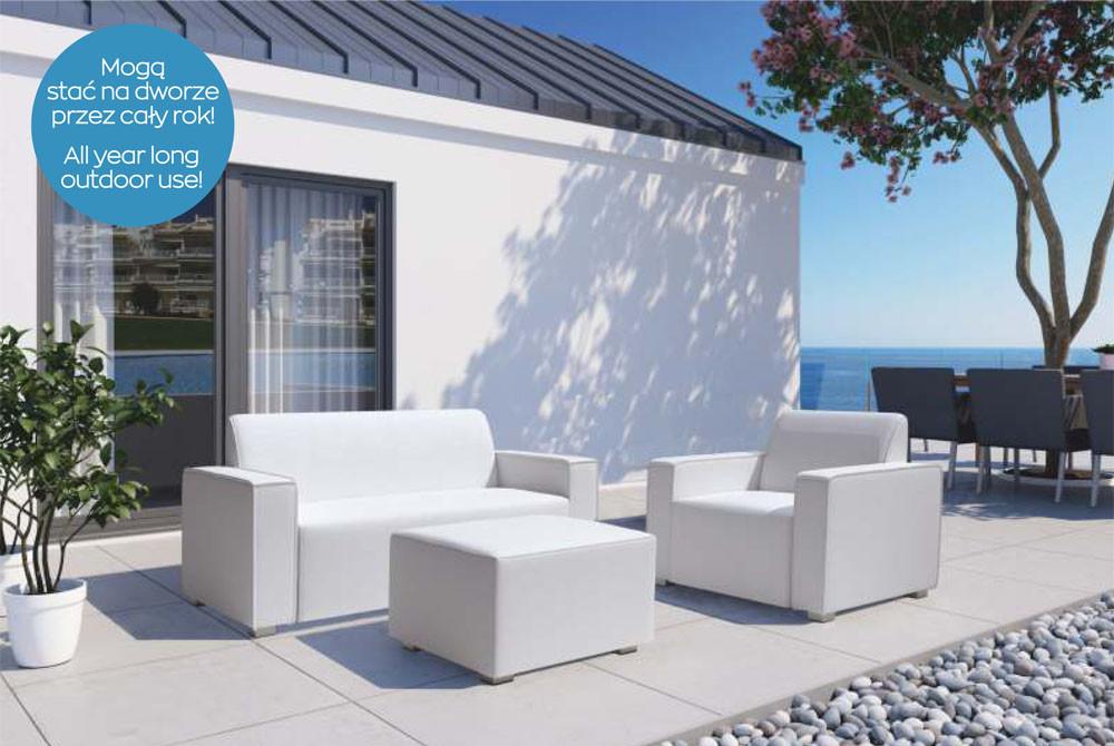 zestaw mebli ogrodowych - kolekcja Ibiza