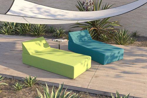 Łóżka ogrodowe wodoodporne - kolekcja Kiwi