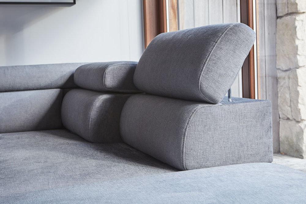 Optimus - kanapa z funkcją spania - kolekcja nowoczesnych tapicerowanych mebli modułowych
