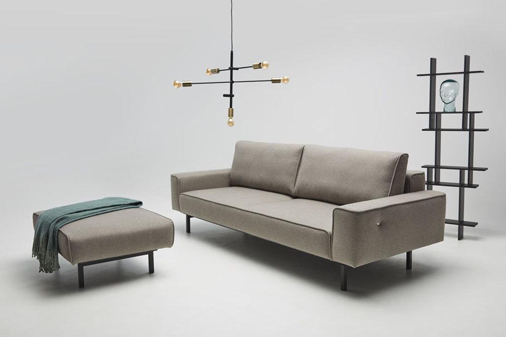 Oslo - Meble do salonu - kolekcja nowoczesnych tapicerowanych mebli z funkcją spania i gniazdem ładowarki usb.