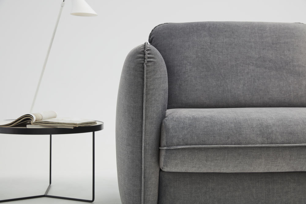 Riva - living room furniture - modern sofa with sleeping function and armchairs