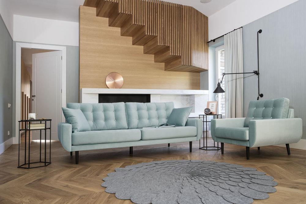 Sofa Rock - sofy modułowe - kolekcja nowoczesnych mebli tapicerowanych.