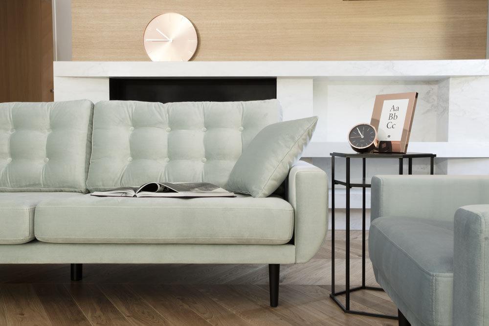 Sofa Rock - kanapy do salonu - kolekcja nowoczesnych mebli tapicerowanych.