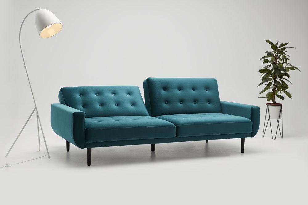 Sofa Rock - sofa z funkcją spania - kolekcja nowoczesnych mebli tapicerowanych.