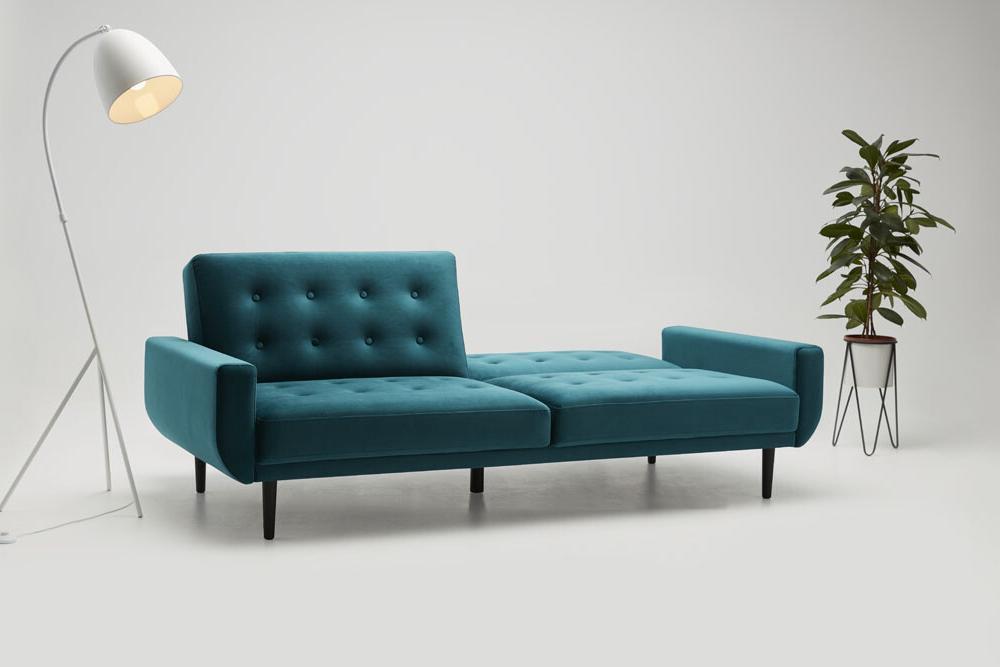 Sofa Rock - kanapa z funkcją spania - kolekcja nowoczesnych mebli tapicerowanych.