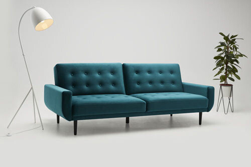Rock - living room furniture - modern modular sectional with sleeping function