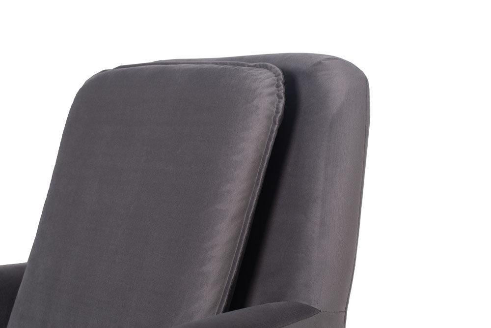 Fotel Soho - wygodny fotel z podnózkiem