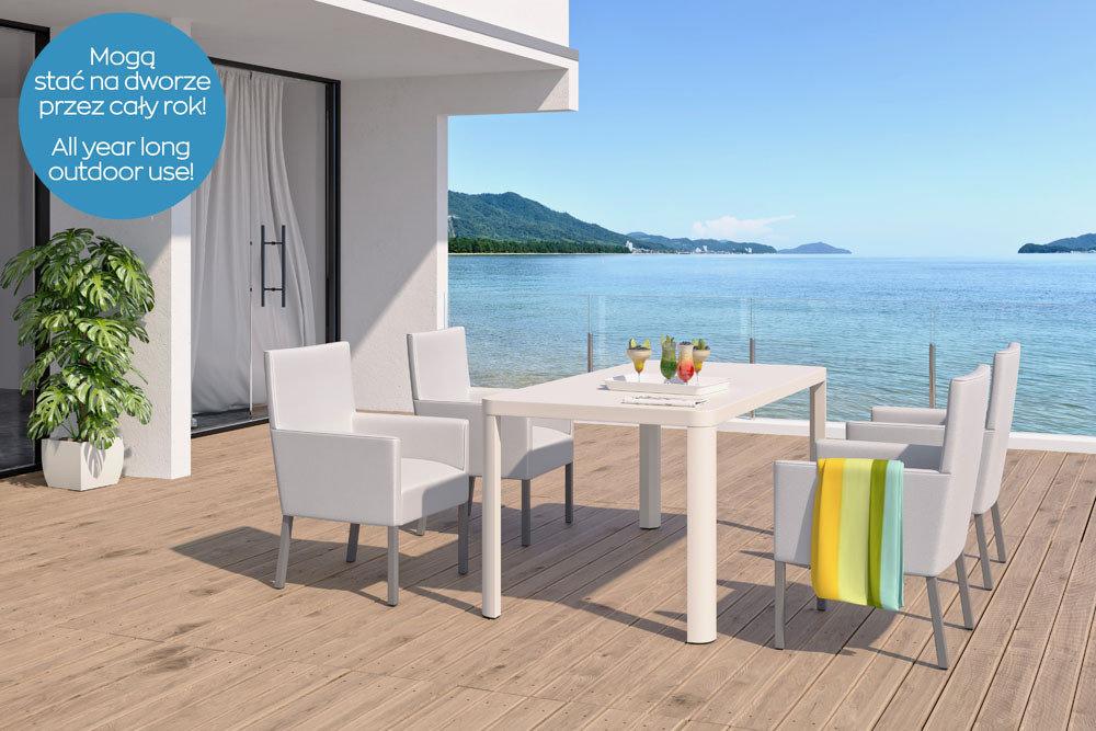 krzesła ogrodowe - kolekcja Sol