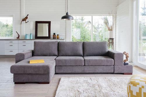 Trivio - Meble do salonu - kolekcja nowoczesnych tapicerowanych mebli modułowych z funkcją spania