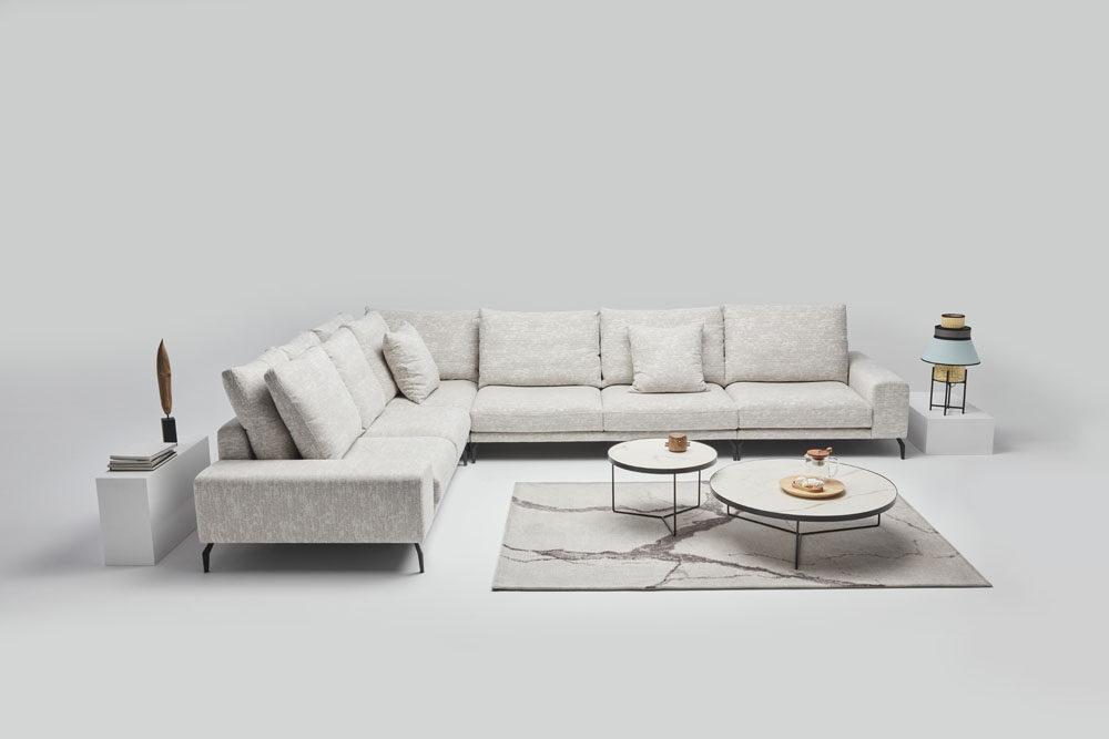 Manhattan - meble pokojowe - kolekcja nowoczesnych tapicerowanych mebli modułowych