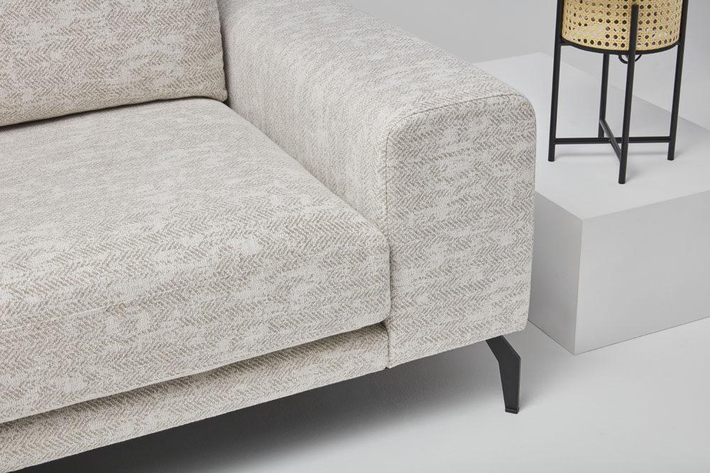Manhattan - kanapa narożna - kolekcja nowoczesnych tapicerowanych mebli modułowych
