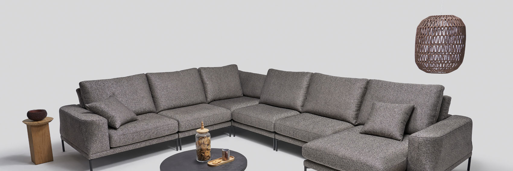 Note collection - living room furniture - modern modular sectional