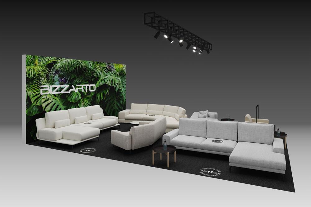 Index Dubai exhibition for equipment and interior design - Bizzarto furniture company