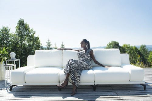 meble ogrodowe białe Nowy Sącz - Milano: sofy, kanapy fotele , zestawy mebli.