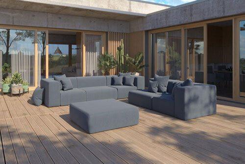 nowoczesne meble tarasowe Nowy Sącz - Milano: sofy, kanapy fotele , zestawy mebli.
