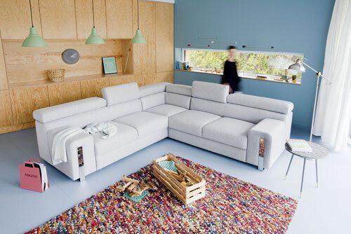 aranżacje salonu Łódź - VanillienHaus: sofy, kanapy fotele , zestawy mebli.