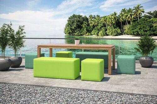 meble ogrodowe modułowe Lubań - Domar: sofy, kanapy fotele , zestawy mebli.