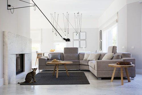 nowoczesne meble do salonu Gdynia - MebloLight