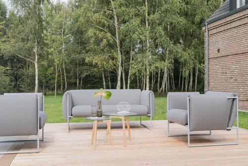 zestaw ogrodowy Puszczykowo k. Poznania - Heliosan: sofy, kanapy fotele , zestawy mebli.