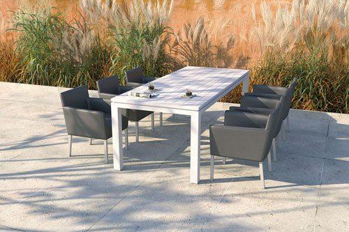 krzesła ogrodowe - kolekcja Luna