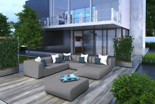 meble ogrodowe modułowe Rumia - Klose: sofy, kanapy fotele , zestawy mebli.