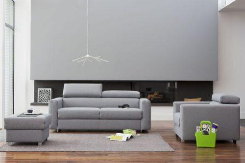 aranżacje salonu Nowy Sącz - Milano: sofy, kanapy fotele , zestawy mebli.