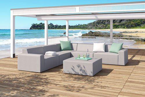 meble ogrodowe całoroczne Puszczykowo k. Poznania - Heliosan: sofy, kanapy fotele , zestawy mebli.