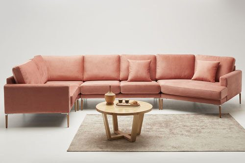 Roll - living room furniture - modern modular sectional with sleeping function