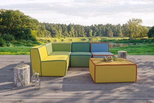 meble ogrodowe na taras Puszczykowo k. Poznania - Heliosan: sofy, kanapy fotele , zestawy mebli.