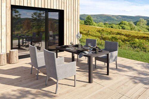 nowoczesne meble tarasowe Puszczykowo k. Poznania - Heliosan: sofy, kanapy fotele , zestawy mebli.