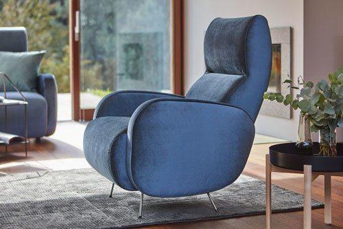 Armchair Viva - reclining mechanism, rocking chair version