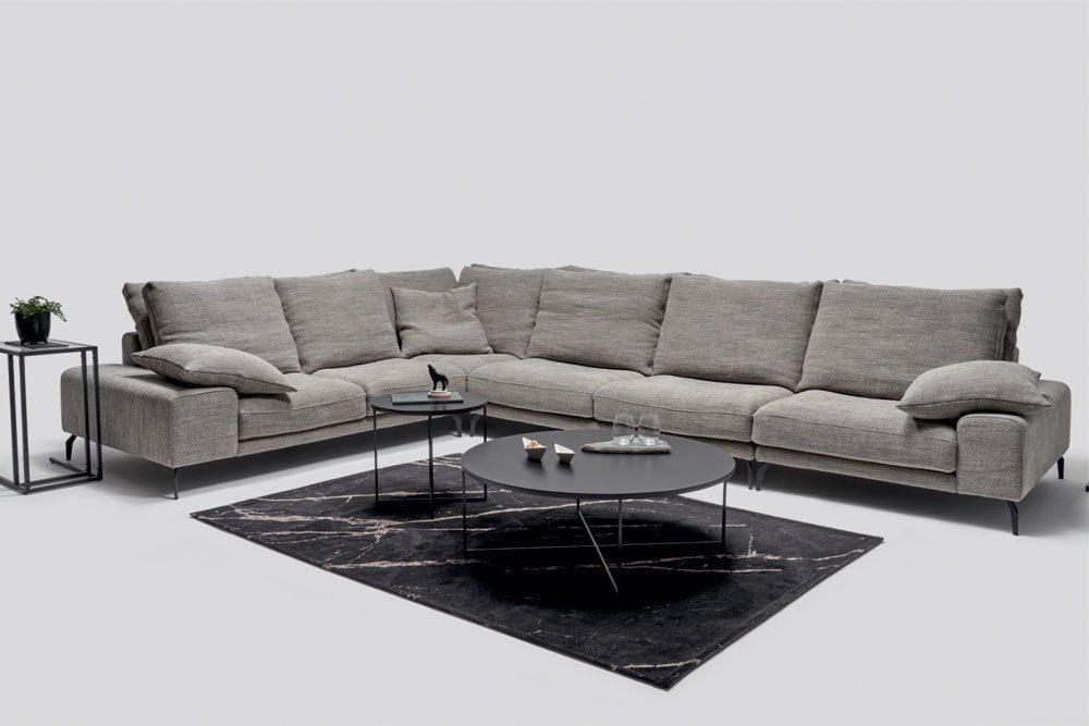 Manhattan - Meble do salonu - kolekcja nowoczesnych tapicerowanych mebli modułowych