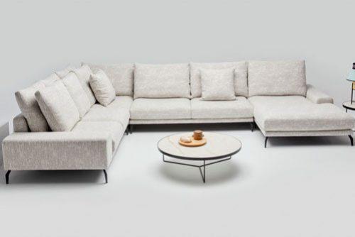 białe meble do salonu Kielce - Szumen